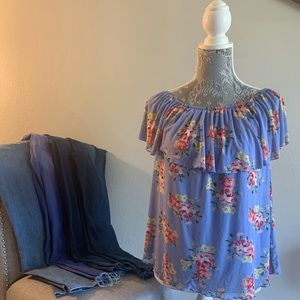 Floral Breezy and Cool Junior Top